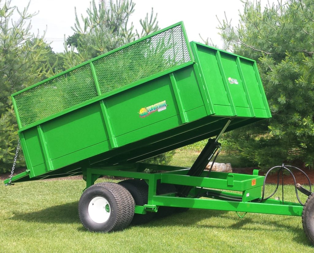 Commercial groundskeeping equipment