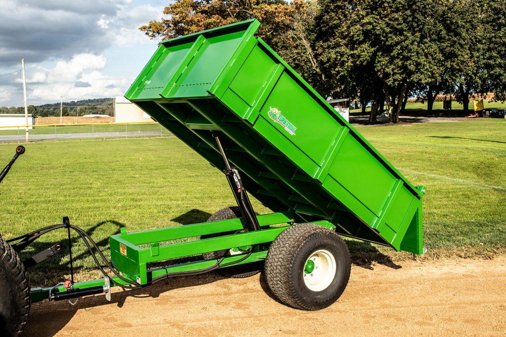 medium duty dump trailer