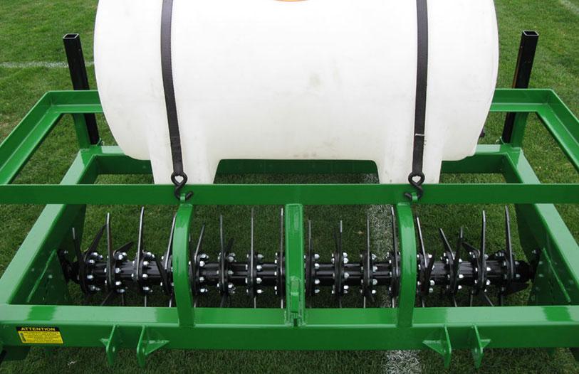 advantage series lawn aerator cost