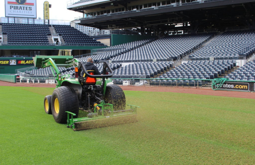 Turf Machinery for Athletic Fields, Golf Courses, & Parks